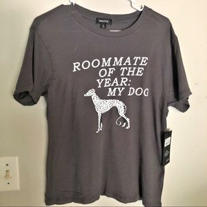 WILDFOX Roommate Of The Year Graphic Tee NWT